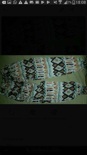 Imagen pantalón de seda