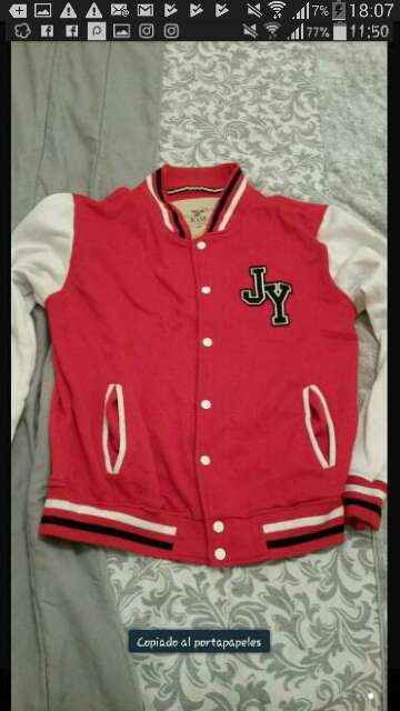 Imagen chaqueta béisbol