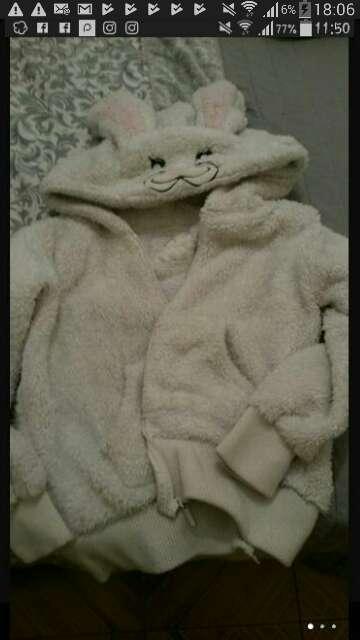 Imagen chaqueta piel de conejo