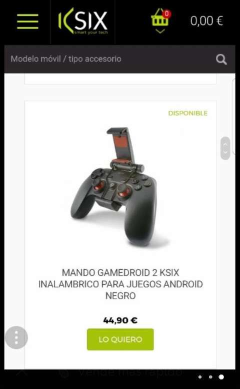 Imagen producto Mando para android 2
