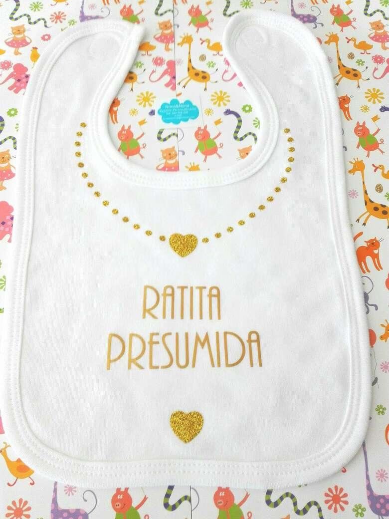 Imagen Baberos personalizados bebés algodón