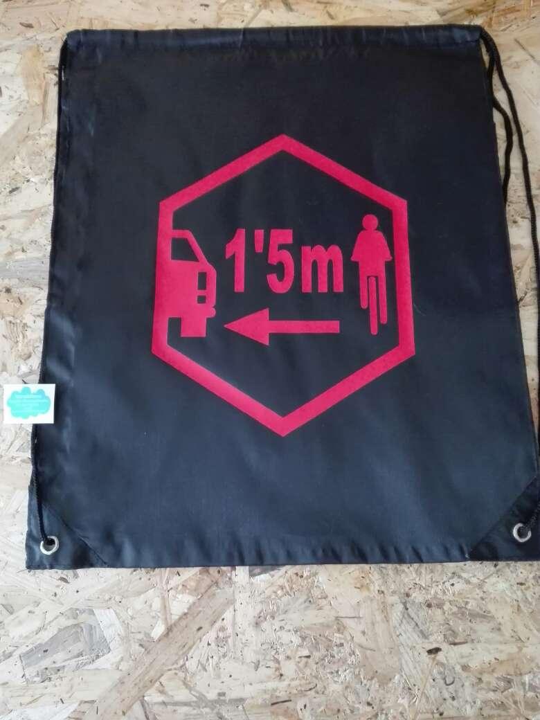 Imagen producto Mochilas personalizadas distancia seguridad bicicletas 2