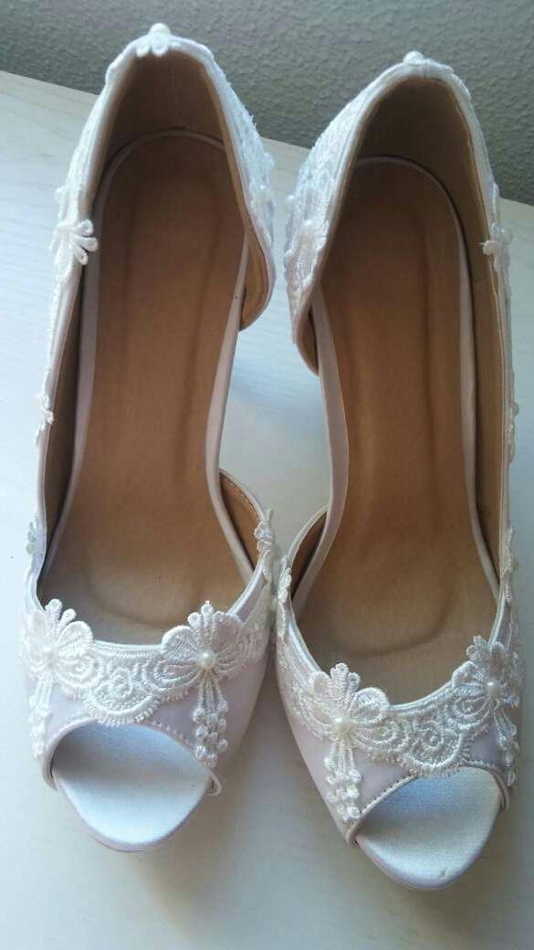 Imagen producto Zapatos de novia nuevos 3