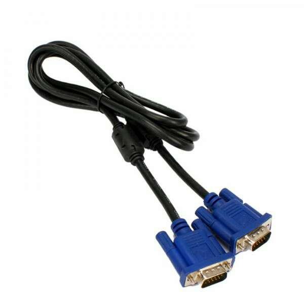 Imagen Cable VGA macho/macho 15 pin nuevo