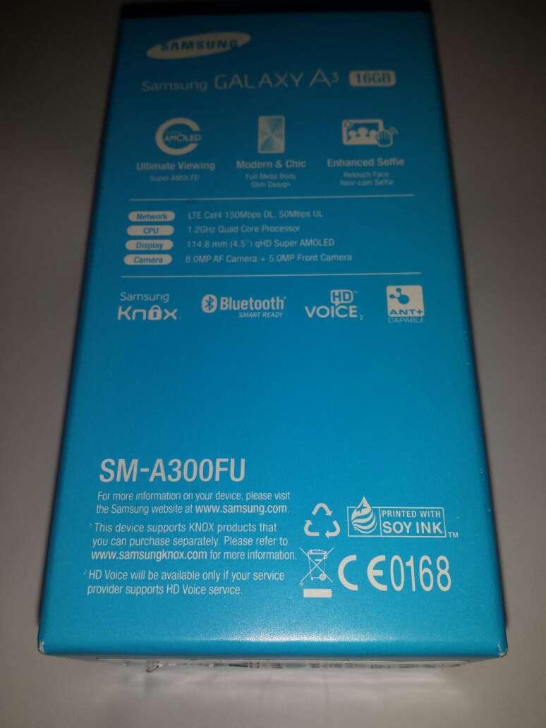 Imagen producto Caja vacia de Samsung A3 de 16gb  2