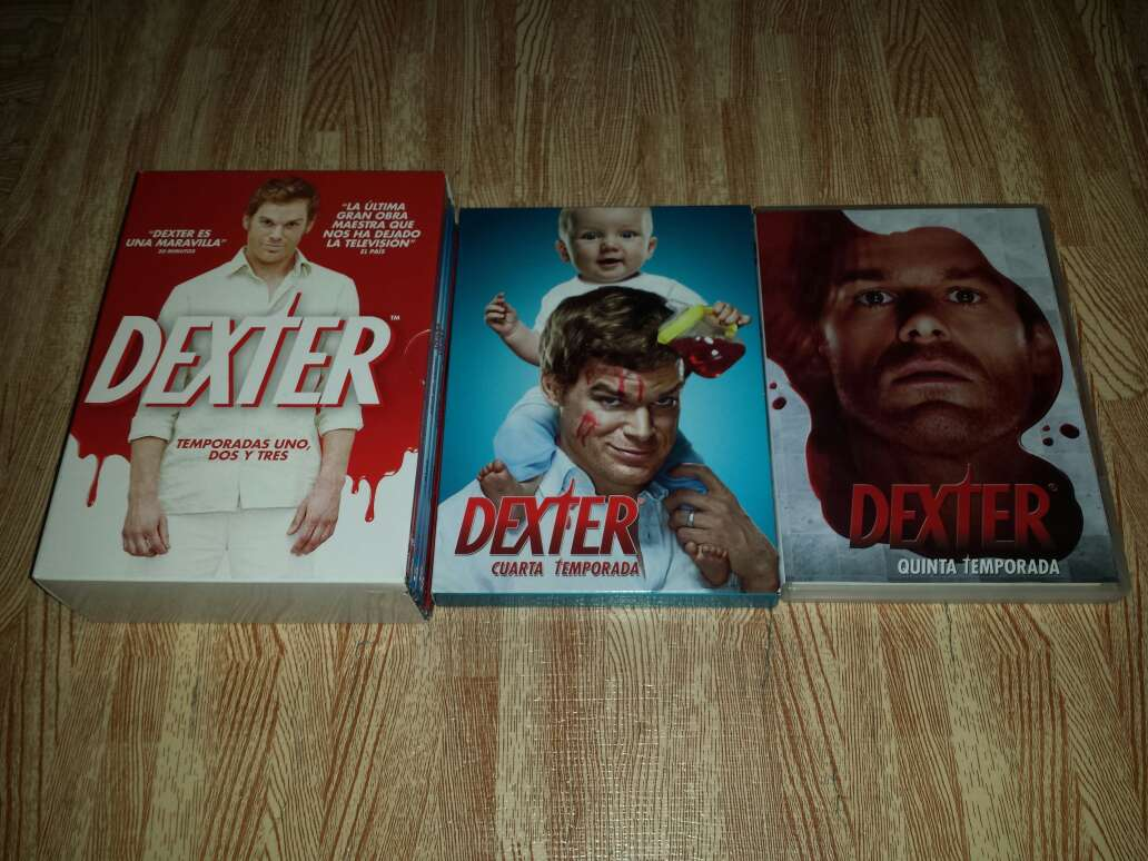 Imagen Serie Dexter de la 1 a la 5 Temporada