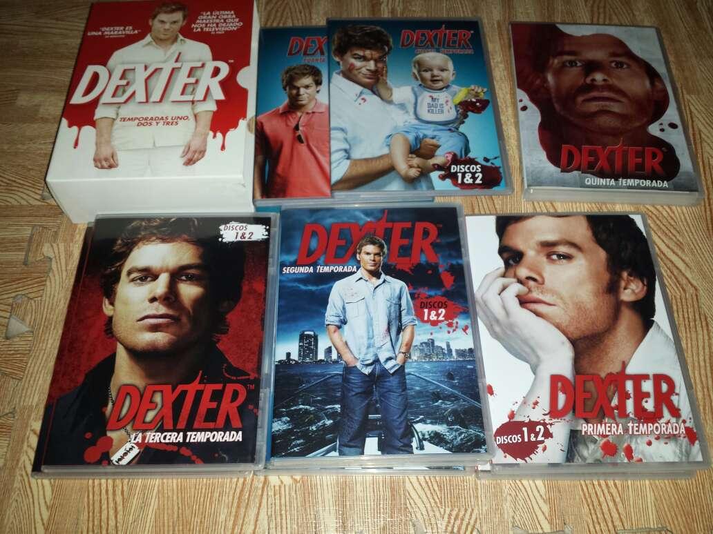 Imagen producto Serie Dexter de la 1 a la 5 Temporada 3
