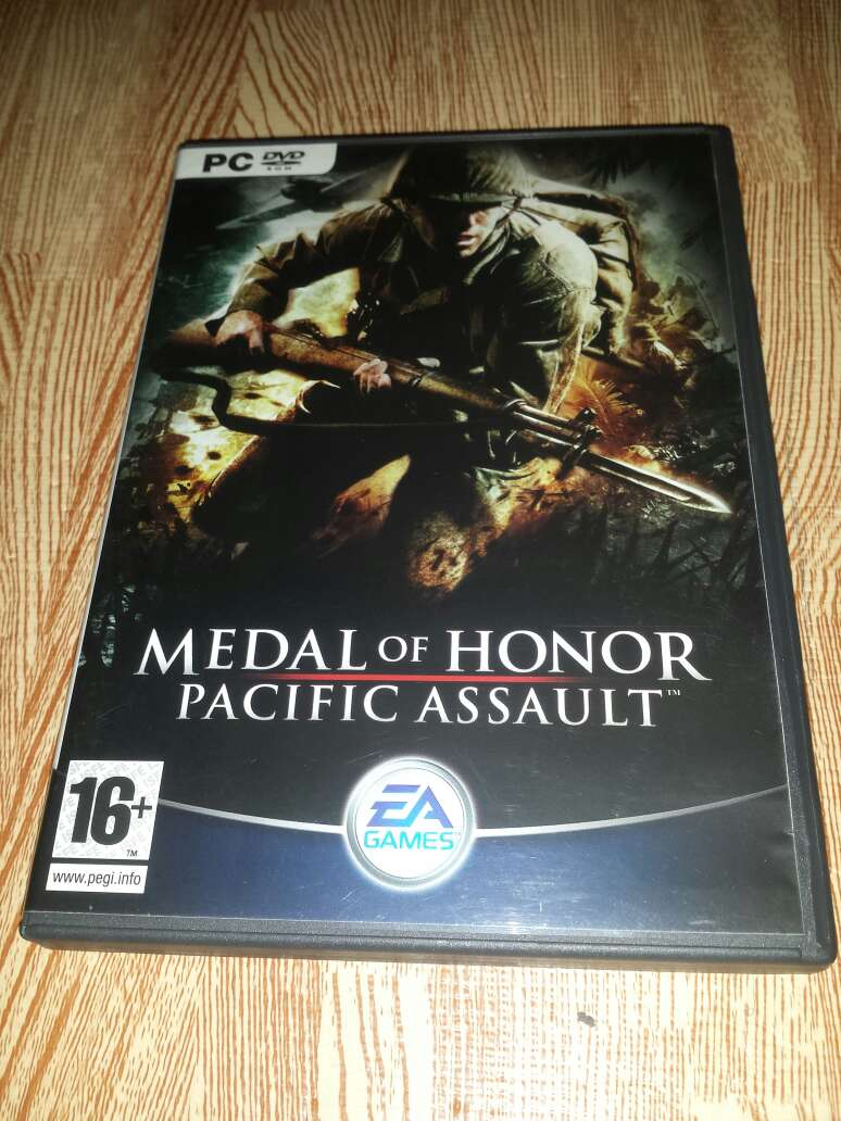 Imagen Juego Medal of Honor Pacific Assault para PC