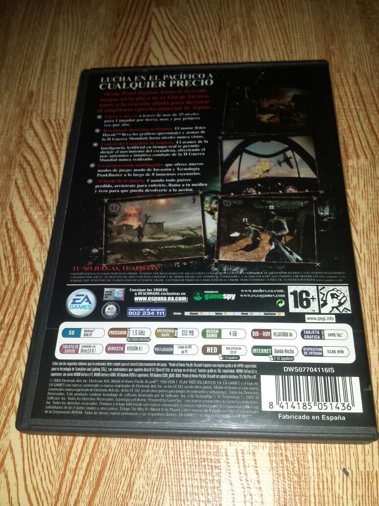Imagen producto Juego Medal of Honor Pacific Assault para PC 2