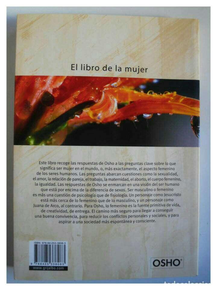 Imagen producto OSHO El Libro de la Mujer  2