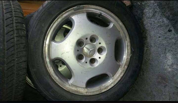 Imagen ruedas mercedes