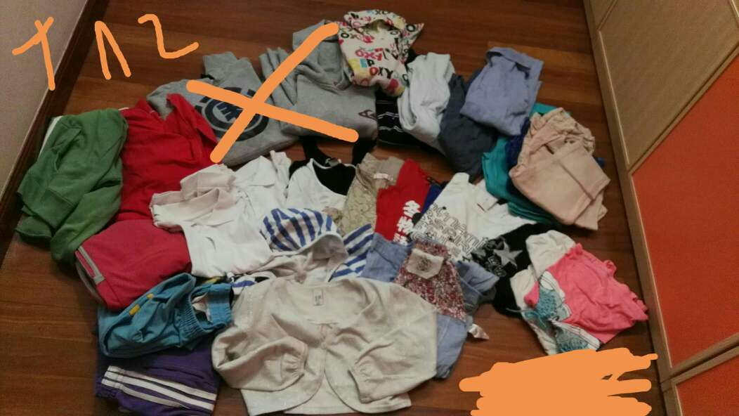 Imagen producto Mucha ropa niña 2
