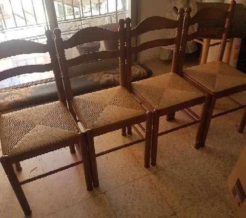 Imagen producto Mesa de exterior plegable y 4 sillas 3