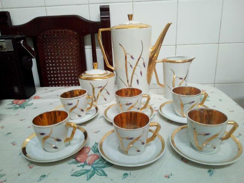 Imagen juego de cafe antiguo