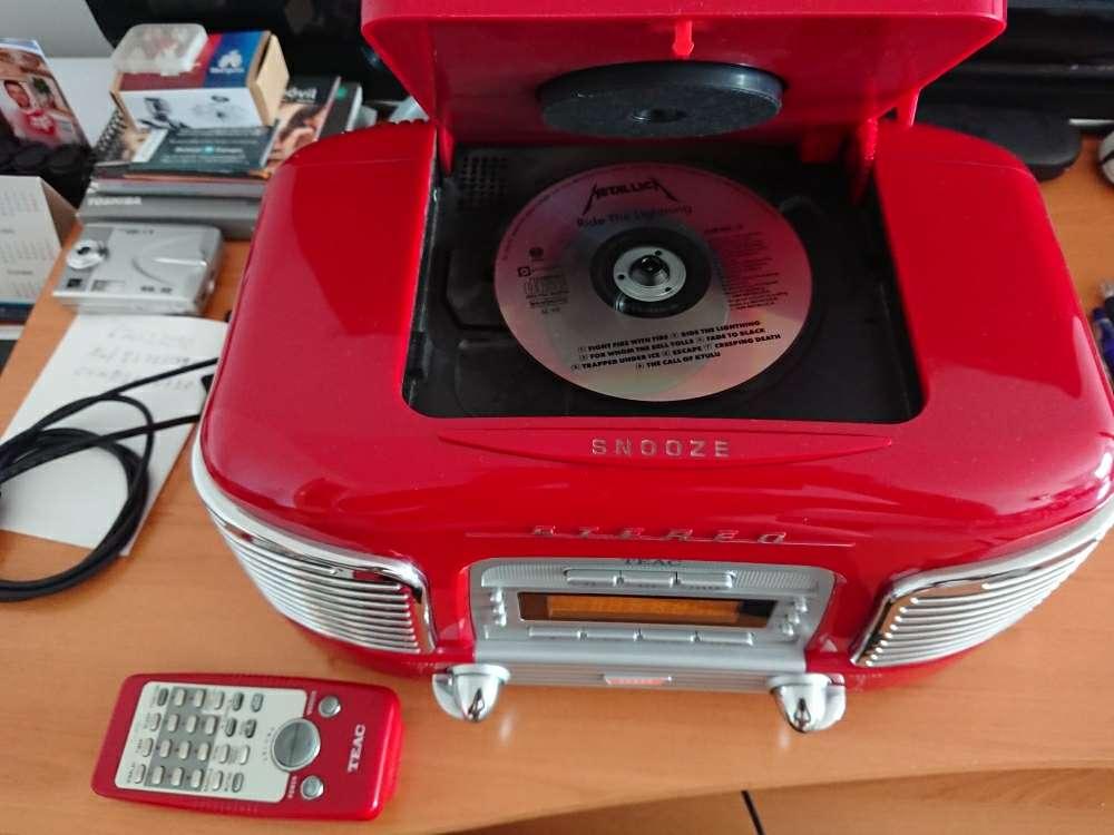 Imagen producto Radio CD Teac 2