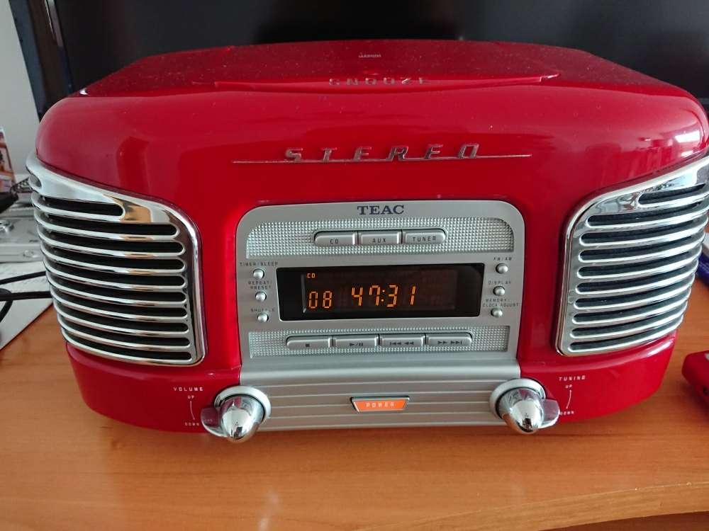 Imagen Radio CD Teac