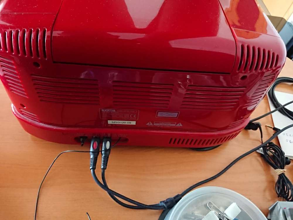 Imagen producto Radio CD Teac 4