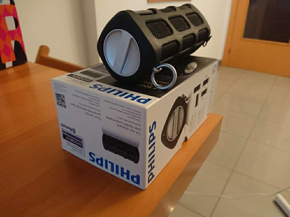 Imagen Altavoz Bluetooth Philips Shoqbox SB7200