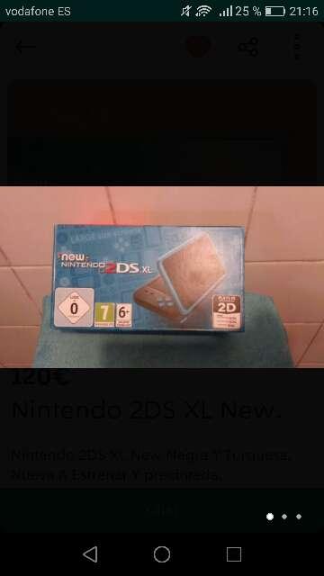 Imagen New Nintendo 2DS XL + 45 juegos