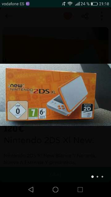 Imagen New 2ds XL custom + juegos