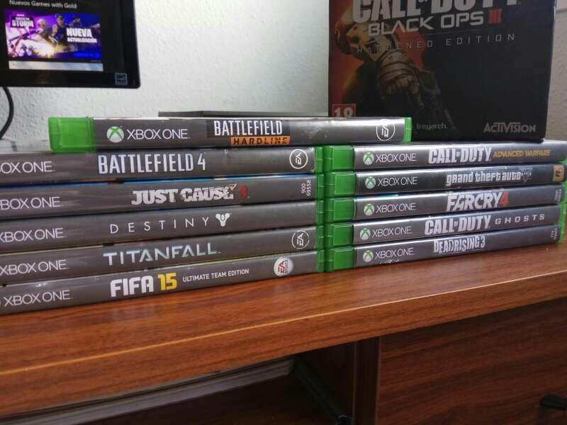 Imagen producto Xbox One 1 Tb con 12 Juegos 2
