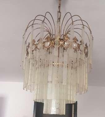 Imagen lampara de cristales