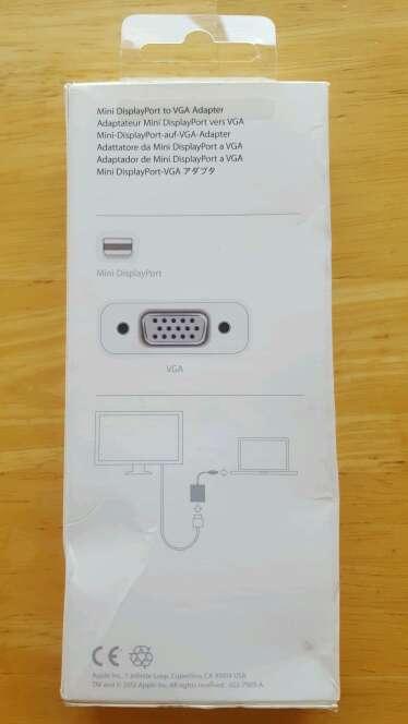 Imagen producto Adaptador de Mini DisplayPort a VGA  2