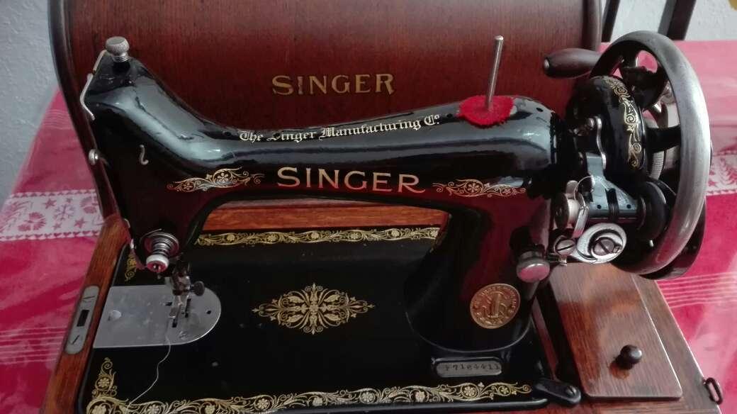 Imagen producto Máquina de coser SINGER 1916 3
