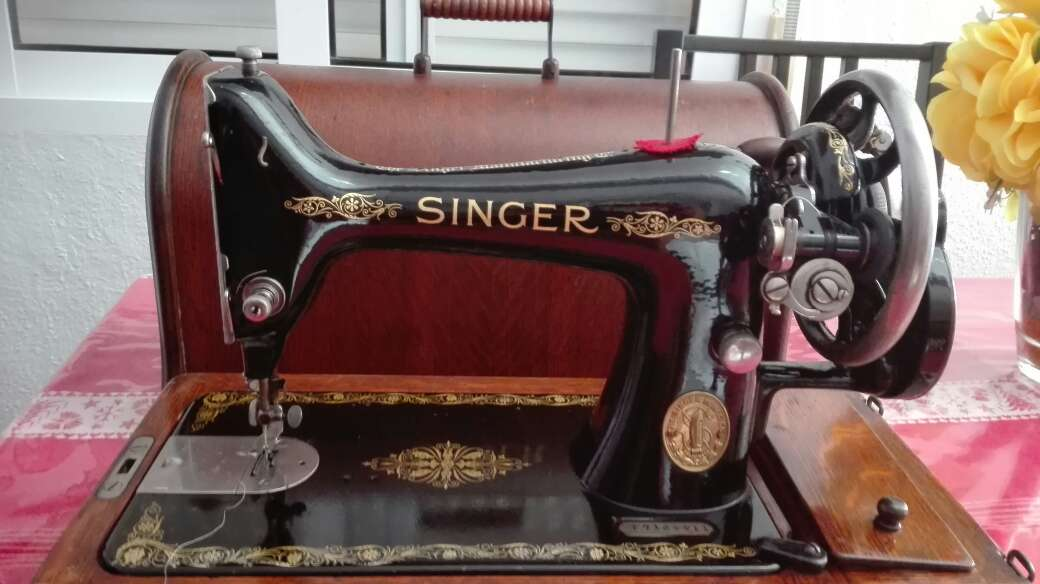 Imagen máquina de coser SINGER 1916