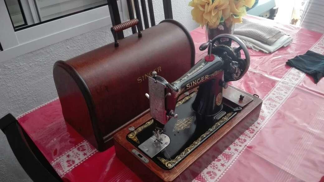 Imagen producto Máquina de coser SINGER 1916 4