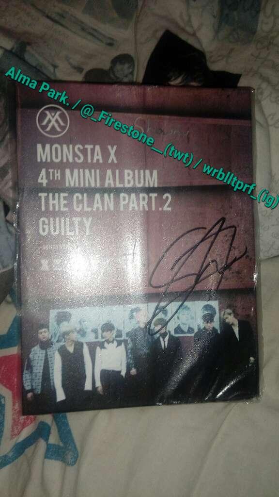Imagen producto [KPOP] Álbum firmado MonstaX 1