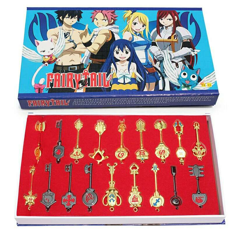 Imagen Caja Llaves Lucy Anime Fairy Tail