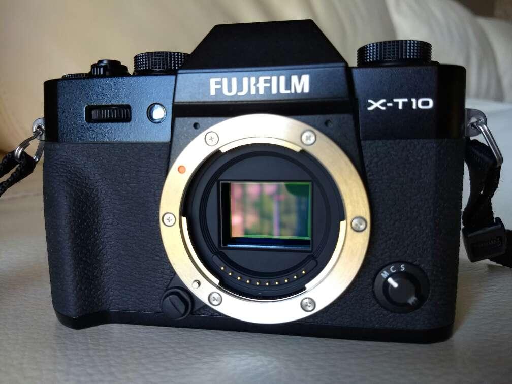 Imagen Fuji Xt10 con garantía