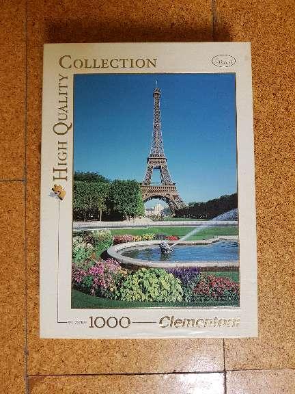 Imagen Puzzle Torre Eiffel 1000 piezas