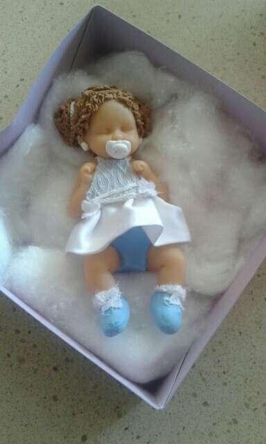 Imagen bebe arcilla polimerica