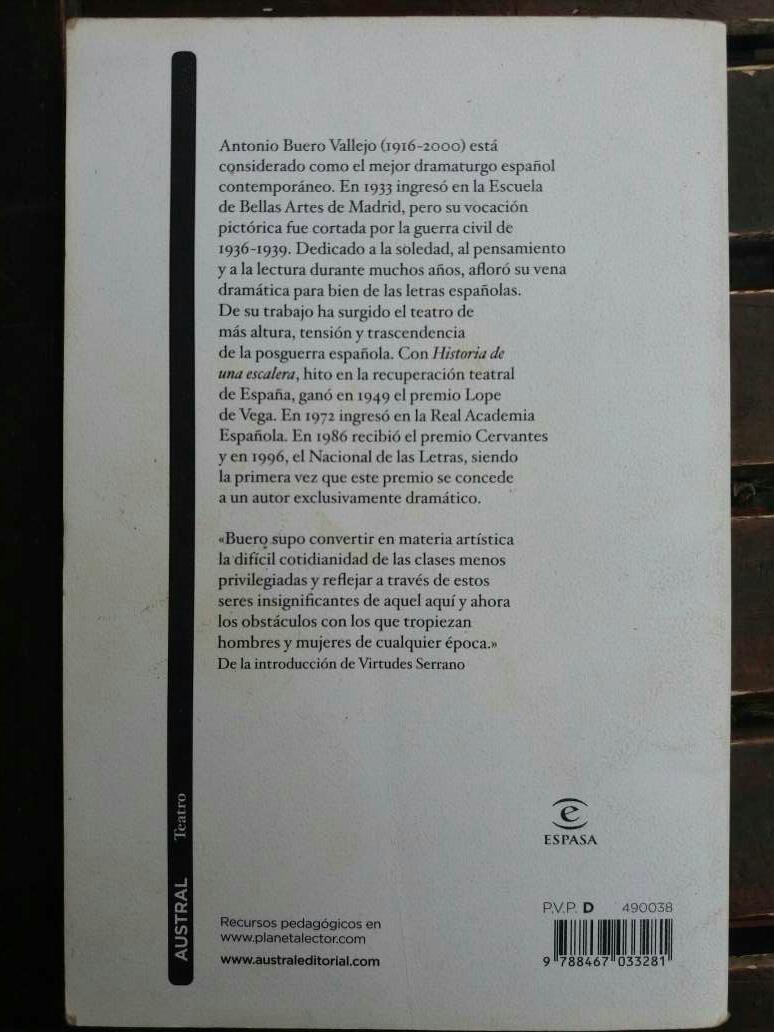 Imagen producto Historia De Una Escalera Libro ESO 3