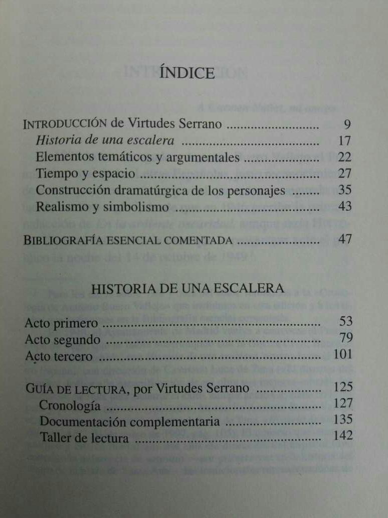 Imagen producto Historia De Una Escalera Libro ESO 2