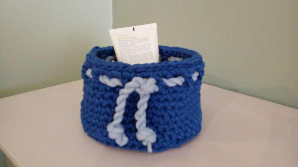 Imagen cesto azul