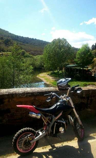 Imagen pitbike 125 Orión