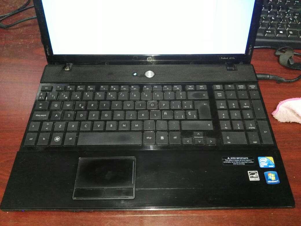 Imagen Portátil HP probook 4510s con cargador