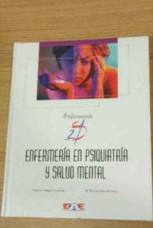 Imagen Libro enfermeria en psiquiatria y salud mental