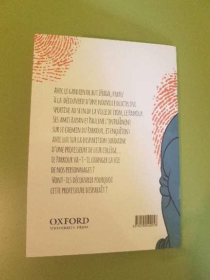 Imagen producto Libro de lectura en Francés: Parkour 3