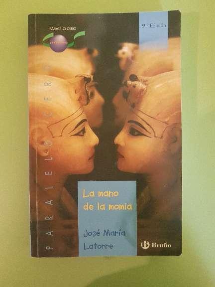 Imagen producto Libro de lectura: La mano de la momia  1
