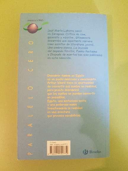 Imagen producto Libro de lectura: La mano de la momia  2