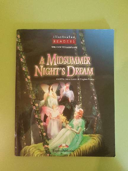 Imagen Libro de lectura en inglés: A Midssummer Night's Dream