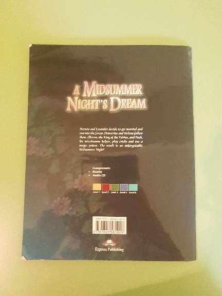 Imagen producto Libro de lectura en inglés: A Midssummer Night's Dream 2