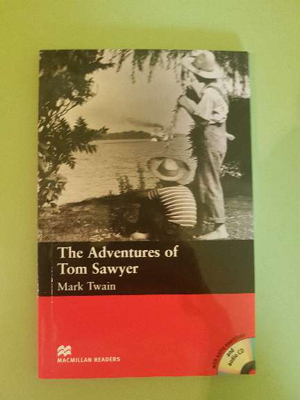Imagen Libro de lectura en inglés: The Adventures of Tom Sawyer