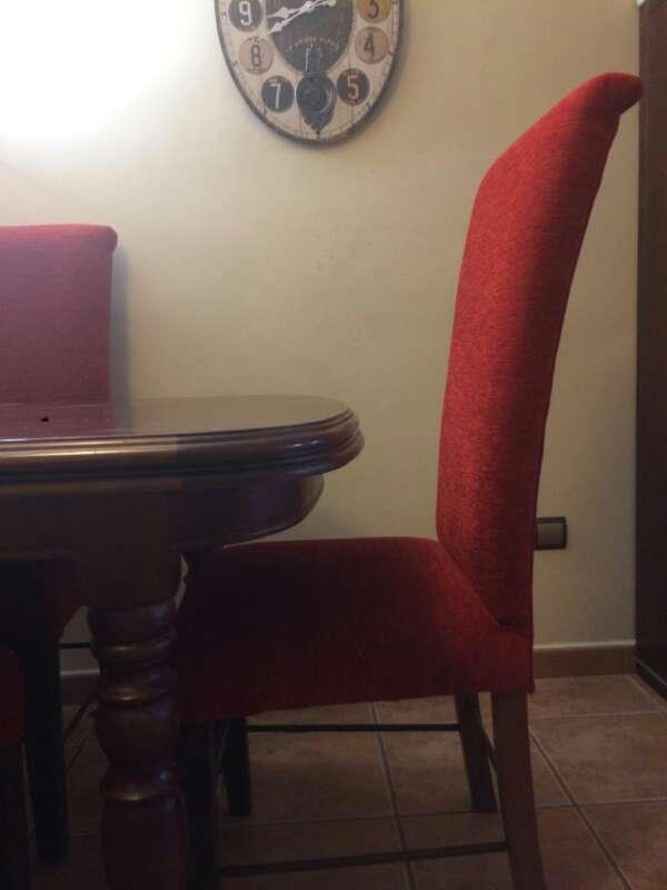 Imagen producto Conjunto de mesa y sillas de roble oscuro  4