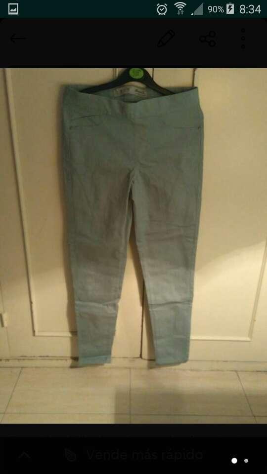Imagen producto Pantalón pitillo de mujer talla 36 1