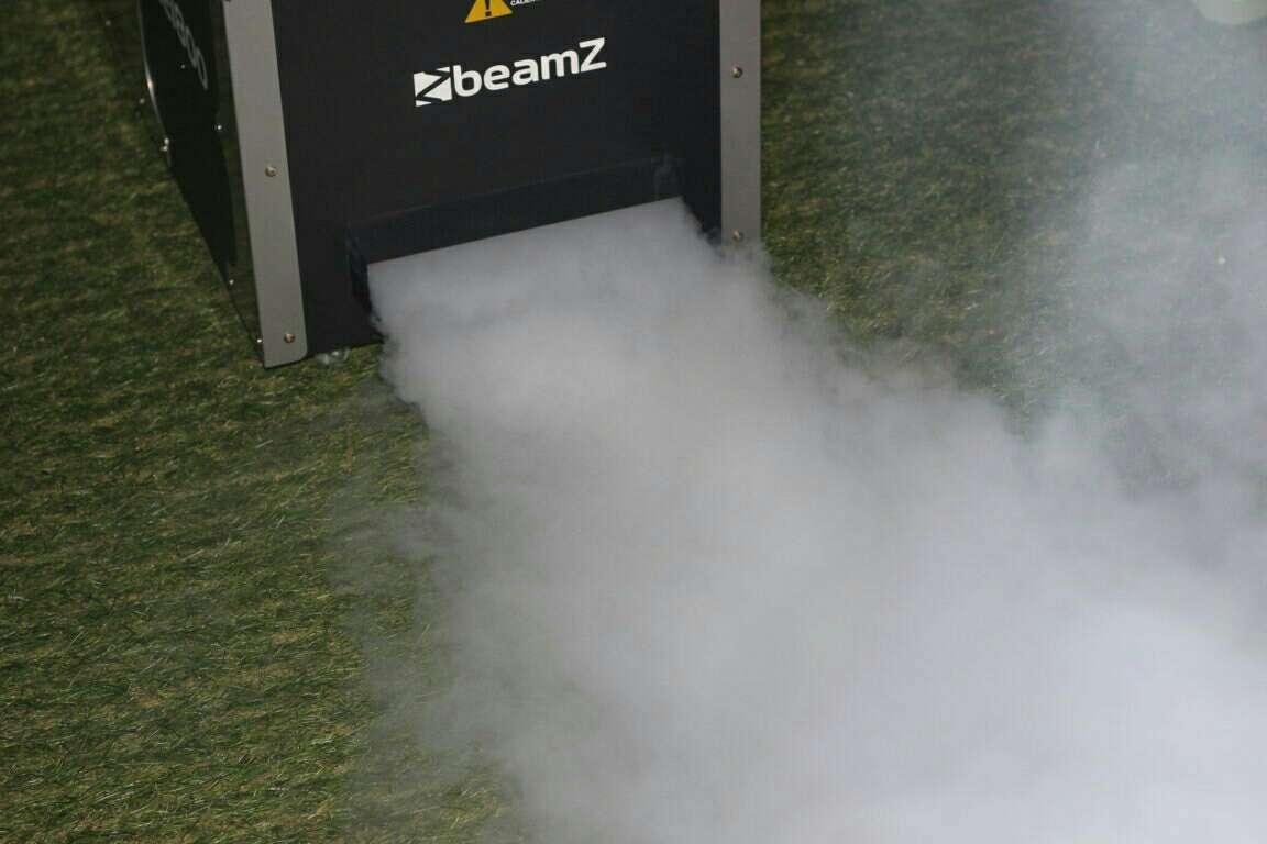 Imagen Máquina humo 1800w beamz nueva